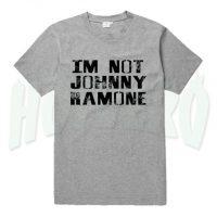 I'm Not Johny Ramone Graphic Slogan T Shirt