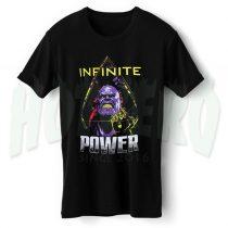 Infinite Power Avengers Infinity War T Shirt