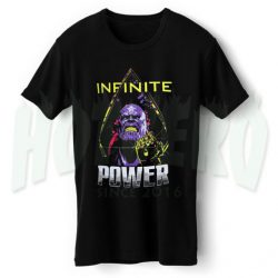 Infinite Power Avengers Infinity War T Shirt