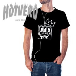 Jean Michel Basquiat Crown Keith Haring T Shirt