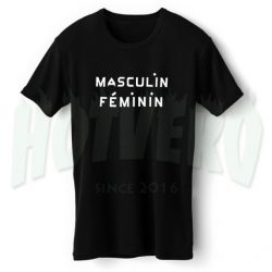 Masculin Feminin Cute T Shirt For Girl