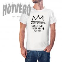 Most Kings Get Thier Head Cut OFF Basquiat Crown T Shirt