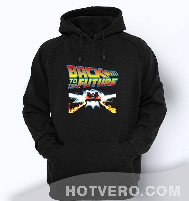 Back To The Future Vintage Unisex Hoodie