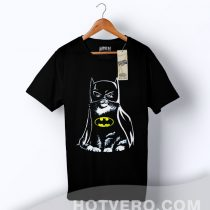 Bat Cat Batman Funny Parody T Shirt