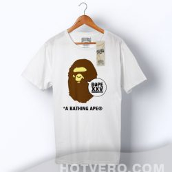 Cheap Bathing Ape Bope XXV Anniversary T Shirt