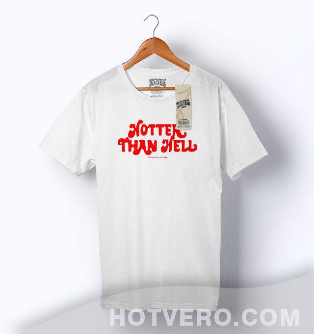 Cheap Hotter Than Hell Vintage T Shirt