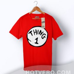 Cheap Thing 1 Dr Seuss Vintage T Shirt