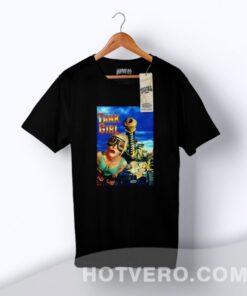 Jurassic Park Tank Girl Vintage Movie T Shirt