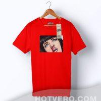 Mia Wallace Pulp Fiction Fan Art Custom T shirt