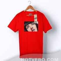 Mia Wallace Pulp Fiction Fan Art Custom T shirt