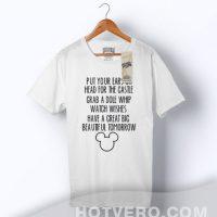 Mickey Mouse Great Big Beautiful Tomorrow Slogan T Shirt