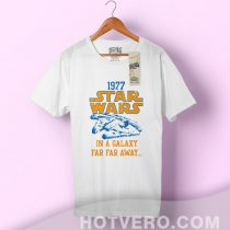 Star Wars 1977 Far Away Falcon Vintage T Shirt