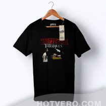 Stranger Things Game Of Thrones Parody T Shirt