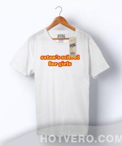 Best Satan's School For Girls Vintage T Shirt