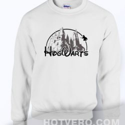 Cheap Harry Potter Hogwarts Castle Unisex Sweatshirt