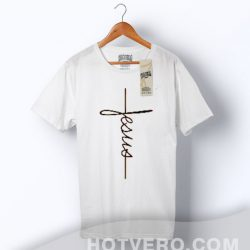 Cheap Jesus Cross Religion T Shirt