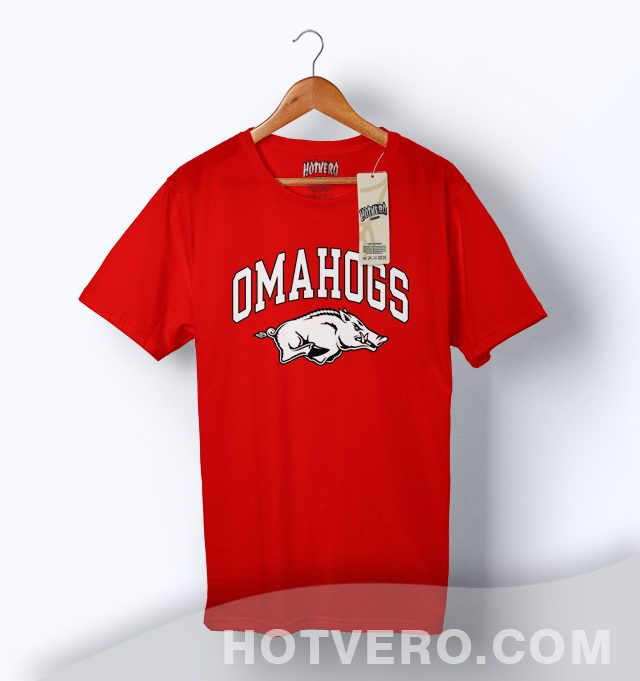 Cheap Omahogs Baseball Symbol T Shirt