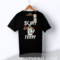Cheap Scary Terry Basketball T Shirt