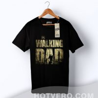 Cheap The Walking Dad Family T Shirt Father Gift
