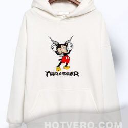 Cheap Thrasher Mousegoat Mickey Mouse Urban Hoodie