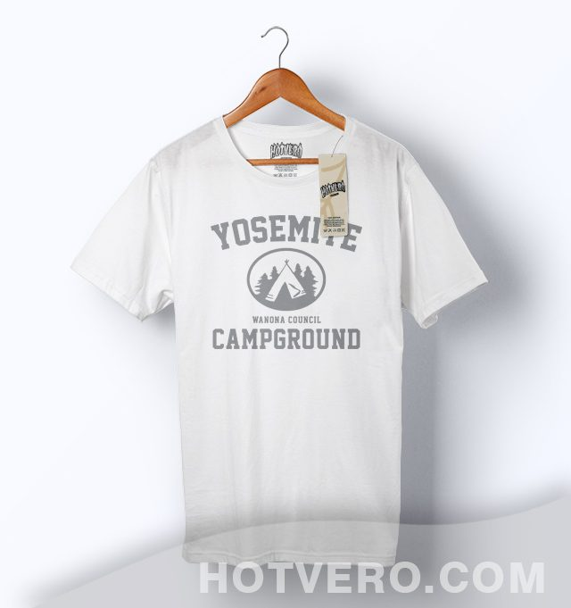 Cheap Yosemite Campground Wanona Council Camp T Shirt
