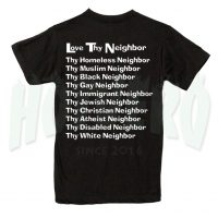 Love Try Neighbor Christian T Shirt Design