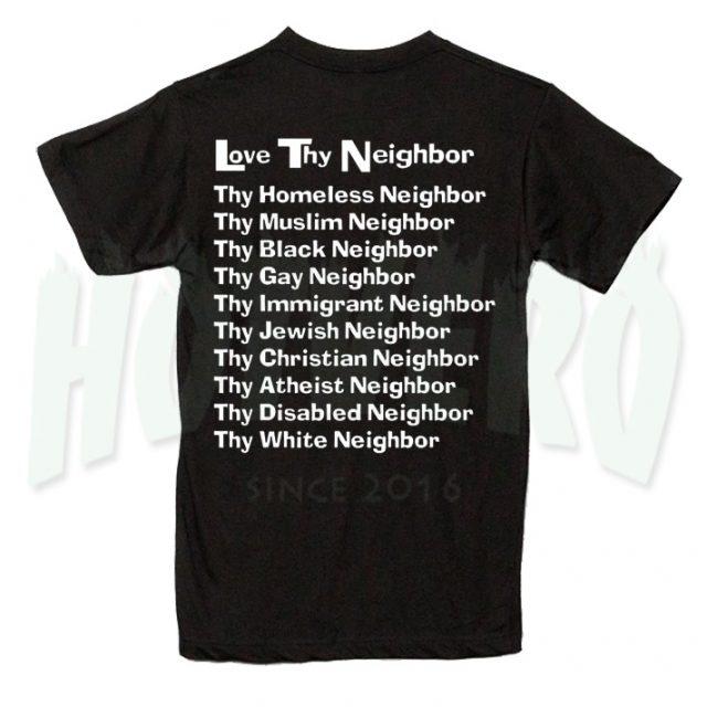 Love Try Neighbor Christian T Shirt Design