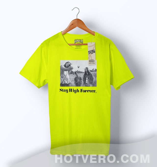 Maiden Noir Stay High Forever Classic T Shirt