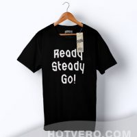 Ready Steady Go Lyric Hipster Urban T Shirt