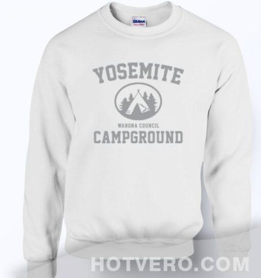 Yosemite Wanona Council Campground Unisex Sweatshirt