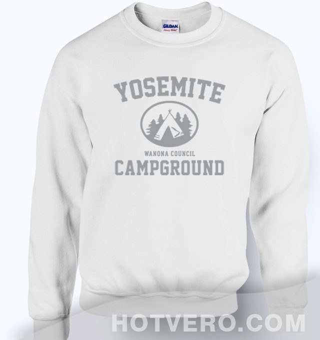 Yosemite Wanona Council Campground Unisex Sweatshirt