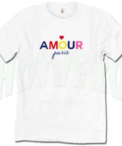 Amour Paris T Shirt Urban Fashion Design