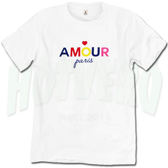 Amour Paris T Shirt Urban Fashion Design