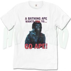 Bathing Ape Wants You To Go Ape Planet Urban T Shirt