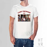 Camp Firewood 1981 Vintage Summer T Shirt