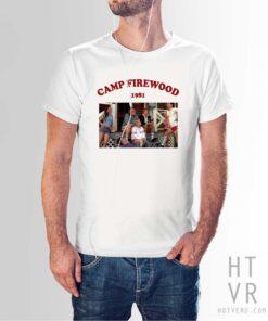 Camp Firewood 1981 Vintage Summer T Shirt