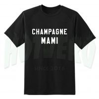 Champagne Mami Drake Graphic T Shirt