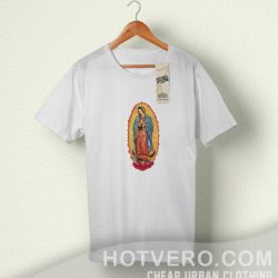 Cheap Guadalupe Jesus Christian T Shirt