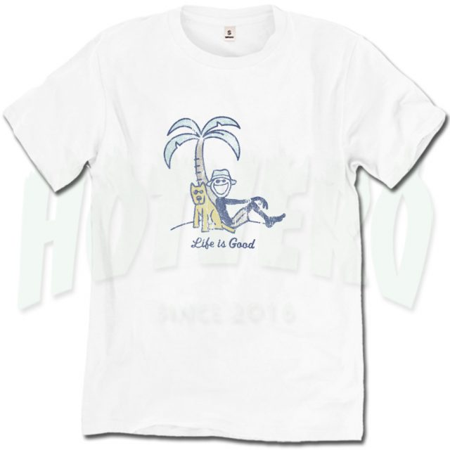 Cheap Palm Tree Life Is Good Summer T Shirt