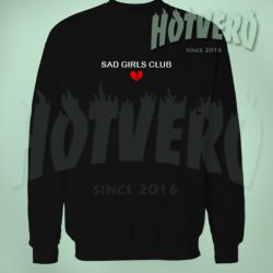 Cheap Sad Girls Club Member Unisex Sweatshirt