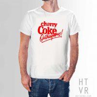 Cherry Coke Outrageous Vintage 80s T Shirt
