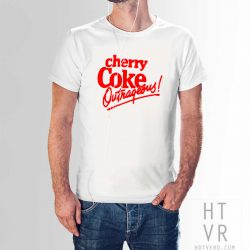 Cherry Coke Outrageous Vintage 80s T Shirt