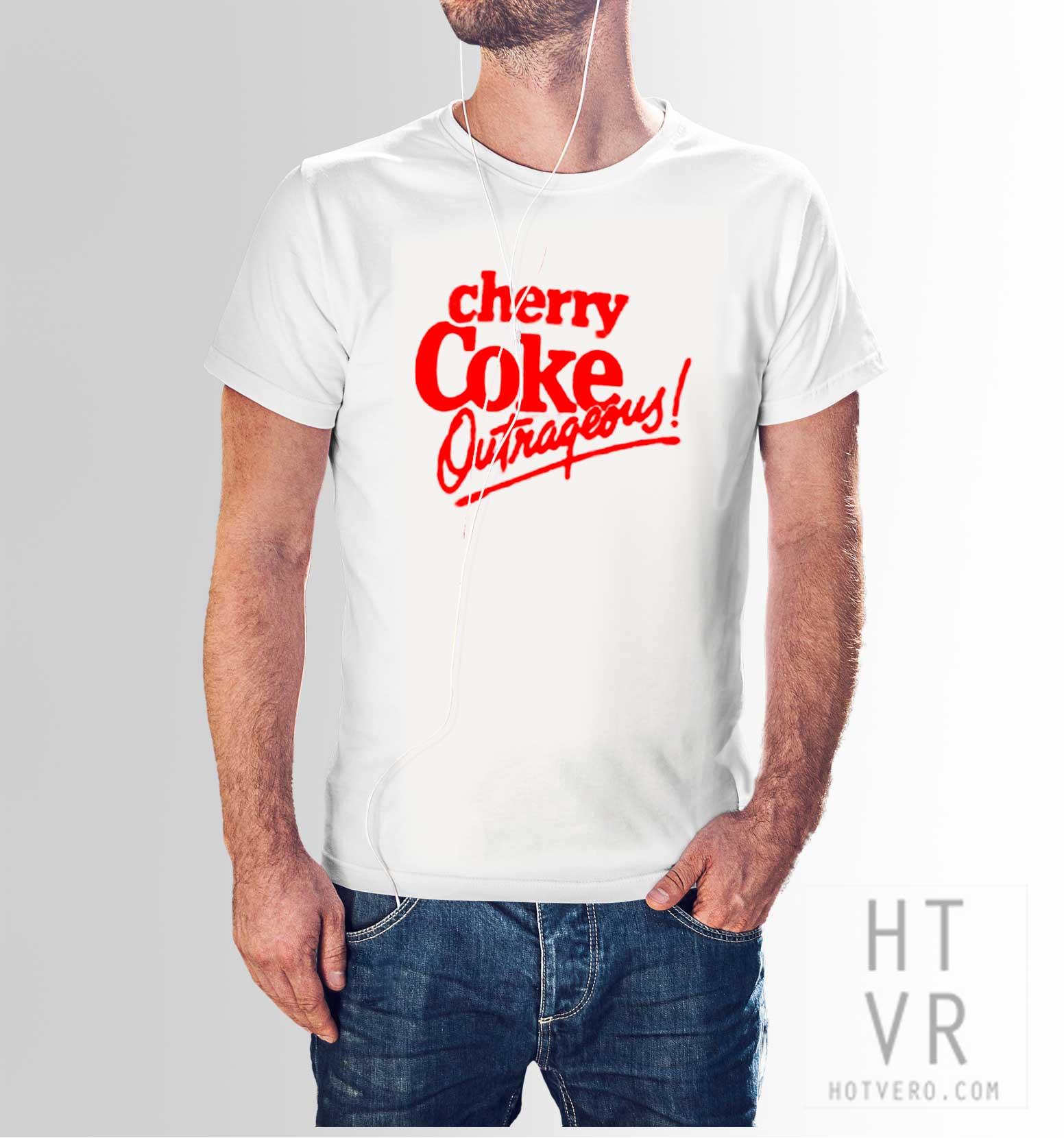 Cherry Coke Outrageous Vintage 80s T Shirt Hotvero