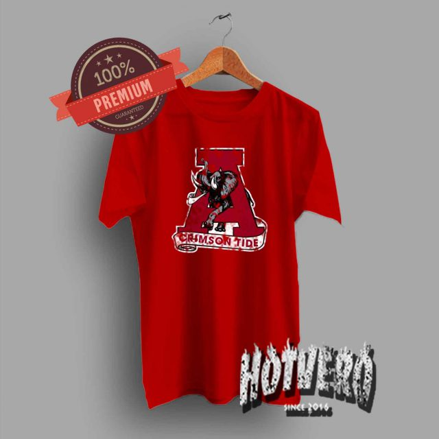 Classic Alabama Crimson Tide T Shirt
