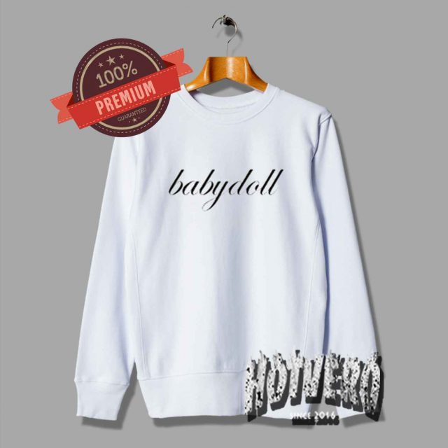 Cute Babydoll Unisex Sweatshirt For Teen