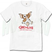 Cute Gremlins There Are Three Rules Streetwear Tshirt Design