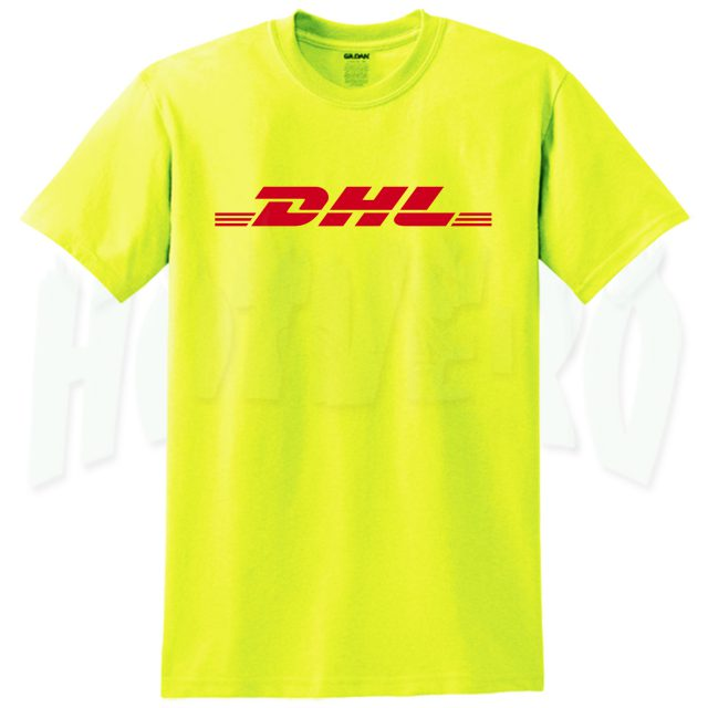 DHL Express Shipping Yellow Top T Shirt