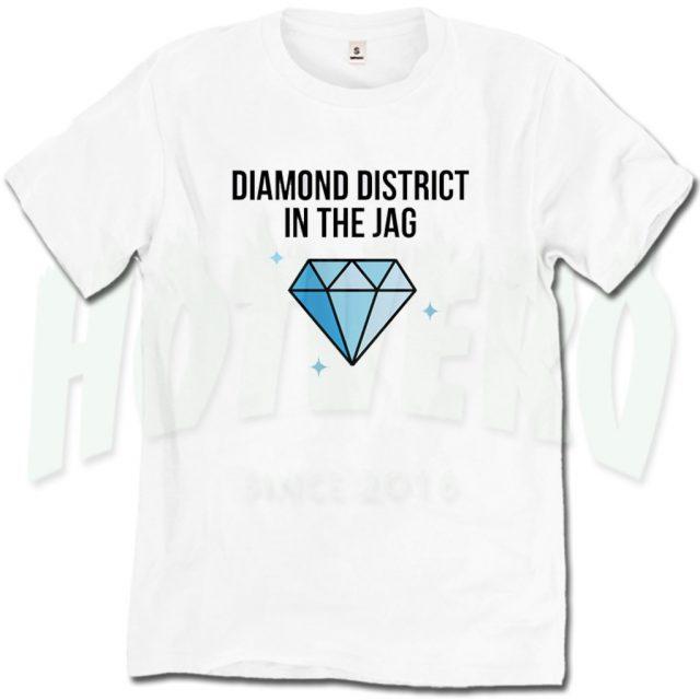 Diamond District In The Jag Cardi B Lyric T Shirt