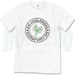 Eat your Greens Vegetable Veganism Slogan T Shirt