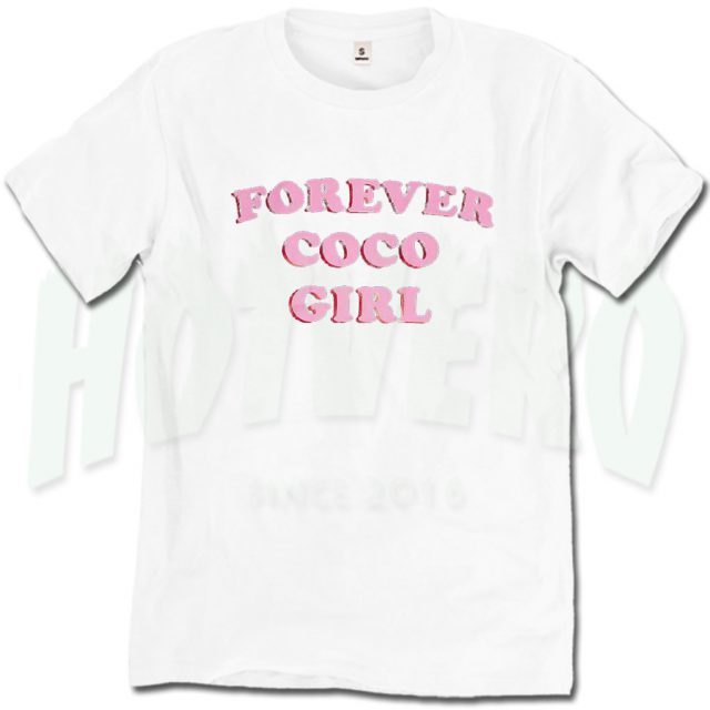 Forever Coco Girl Streetwear T Shirt For Teen